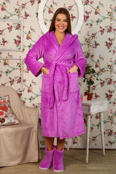 Плюшевый халат