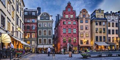 В Стокгольм (Швеция)