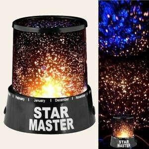 ночник со звездами
