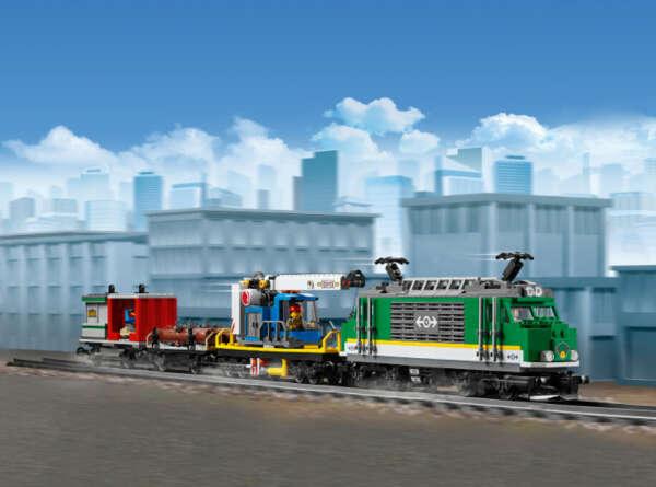 City 60198  Товарный поезд