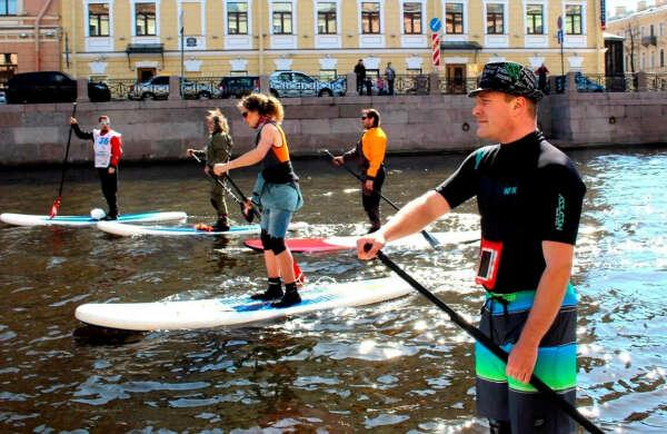 Сап-сёрфинг в Санкт-Петербурге 2020