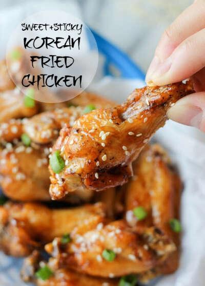 Курица в мёде по-корейски