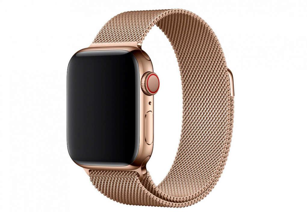 Часы Apple Watch Series 5 GPS + Cellular 40mm Stainless Steel Case with Milanese Loop — купить по выгодной цене на Яндекс.Маркете