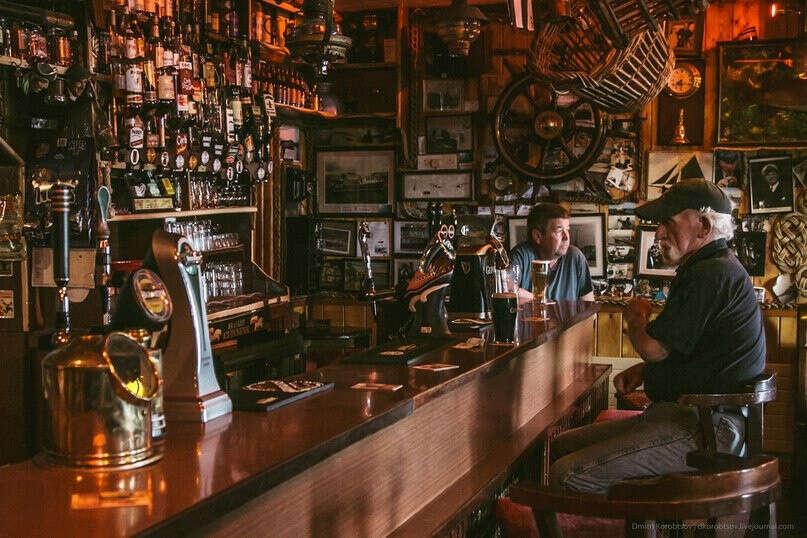 Побывать в ирландском пабе