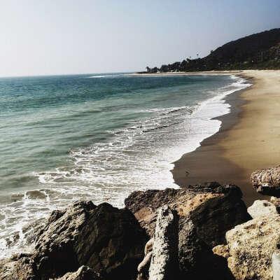 отдохнуть на калифорнийском пляже