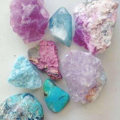 Необработанный кристалл