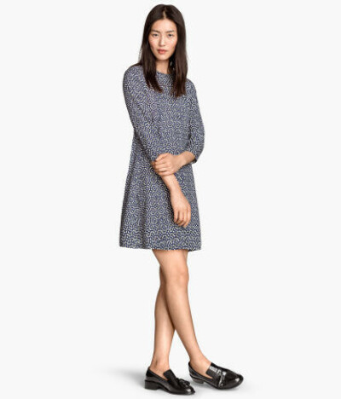 H&M Платье-трапеция 1499 Руб