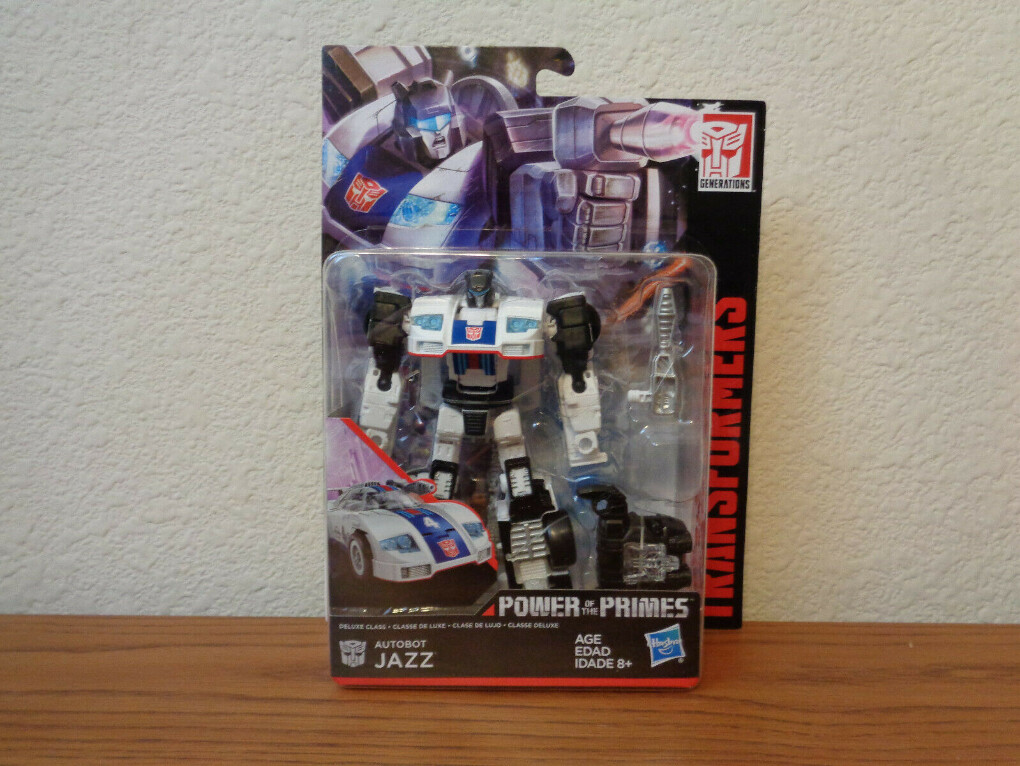 Transformers Power of the Primes Deluxe Autobot Jazz Action Figure IN STOCK
