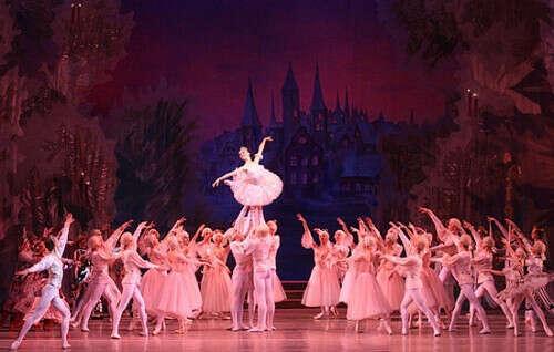 "Сходить на классический балет ""Щелкунчик"""