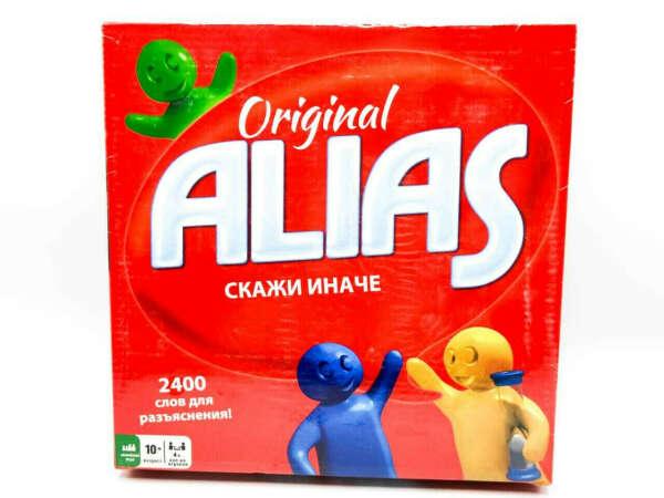 Настольная игра Элиас (Alias скажи иначе - 3) Алиас