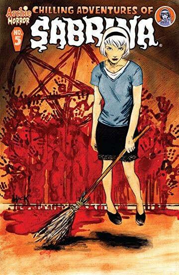 Chilling Adventures of Sabrina комикс в оригинале