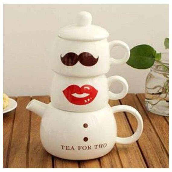 Кофейный набор для двоих Мистер и миссис