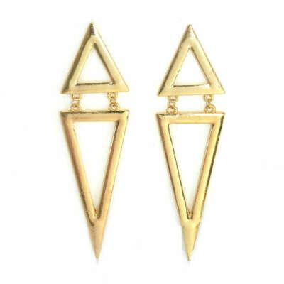 Серьги из треугольников