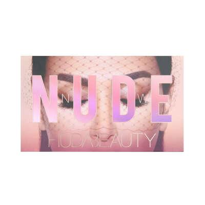 палетка теней для век huda beauty nude