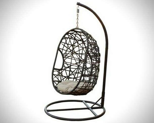 кресло-яйцо или гнездо