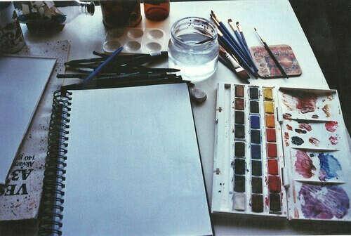 Научиться рисовать акварелью