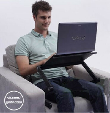 Складной стол для ноутбука