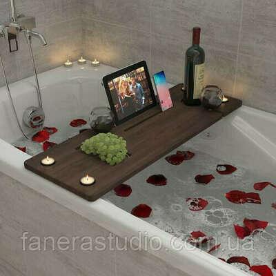 Полка для ванны, столик в ванную, столик-полка, столик-подставка