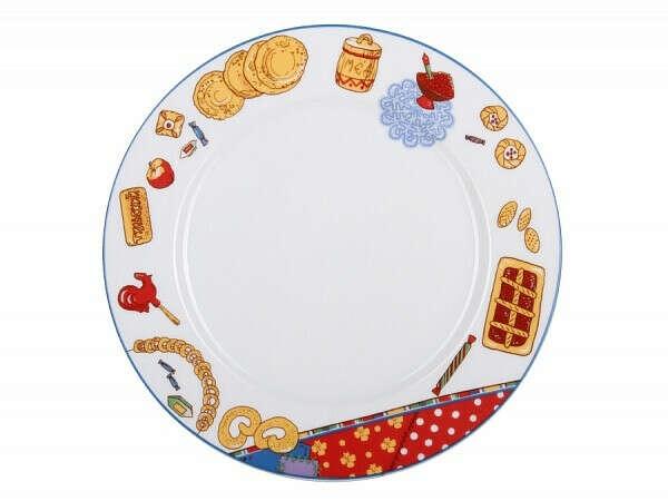 Тарелка 215 форма Европейская-2 рисунок Масленица арт. 80.86103.00.1