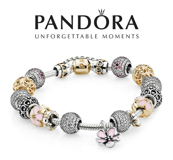 PANDORA | Серебряные, кожанные и золотые браслеты
