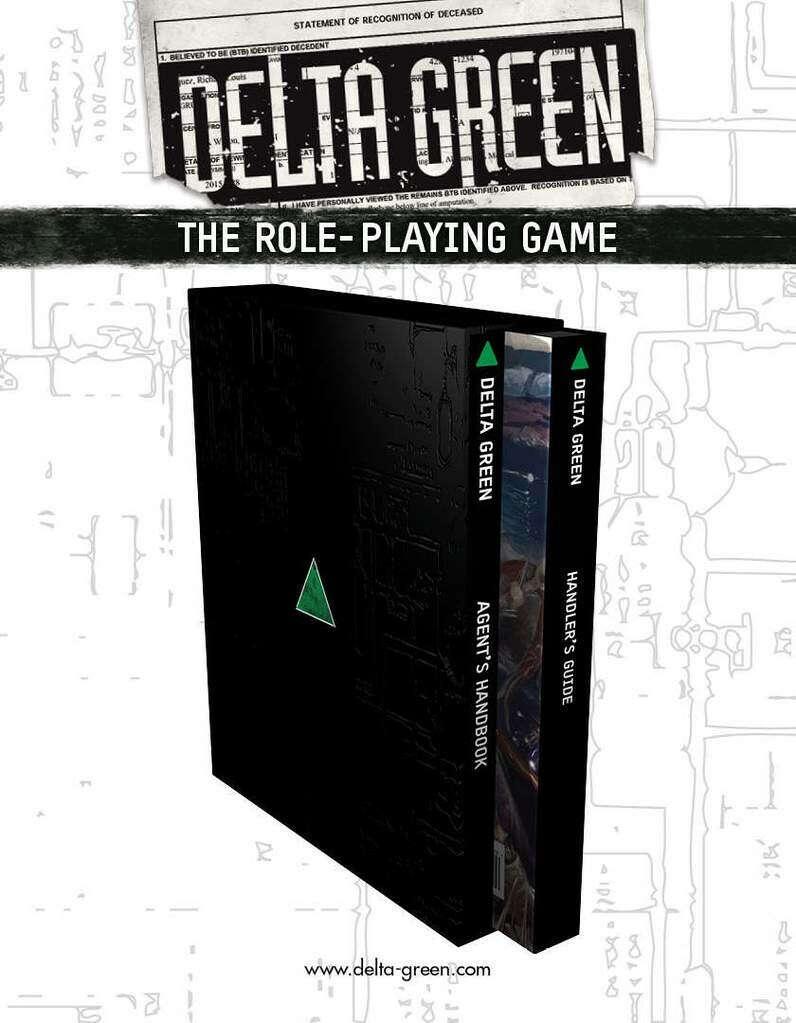 Delta Green: The Role-Playing Game (hardback slipcase set)