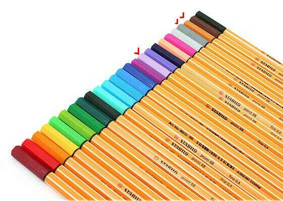 цветные ручки
