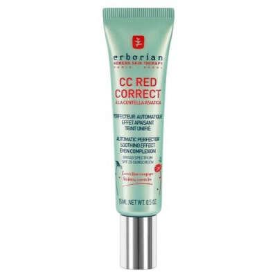 Erborian CC Red Корректирующий крем для лица в дорожном формате