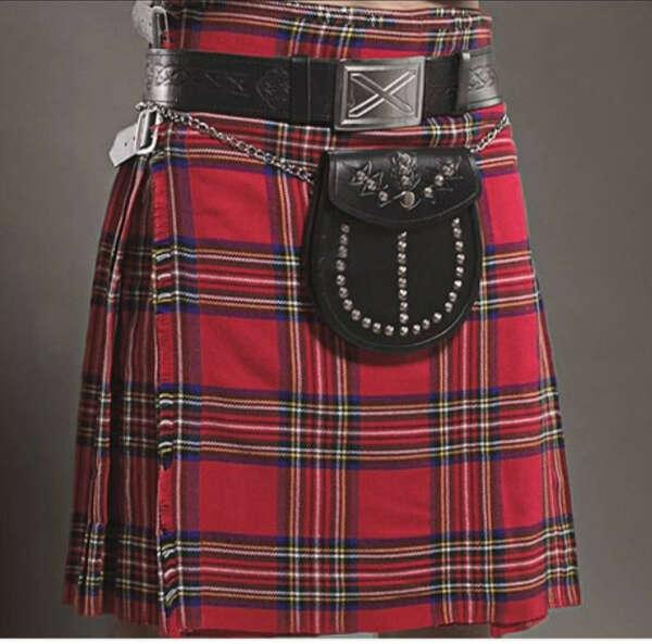 Традиционный шотландкий килт