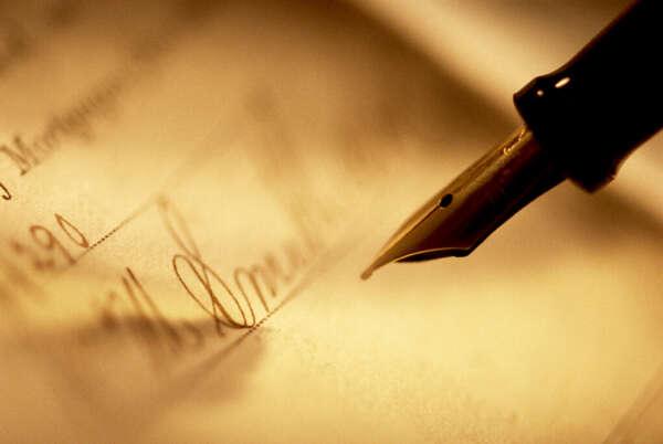 иметь красивый почерк