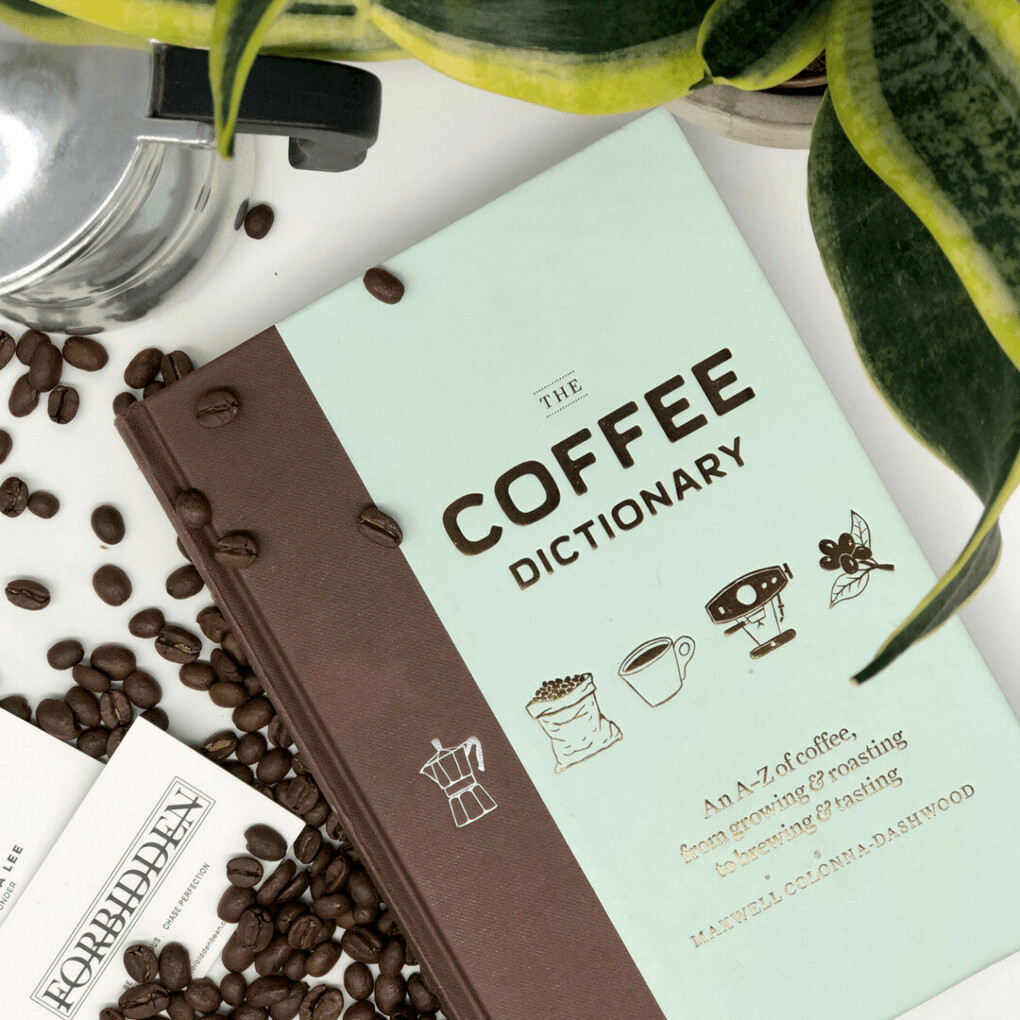 Книжку coffee dictionary