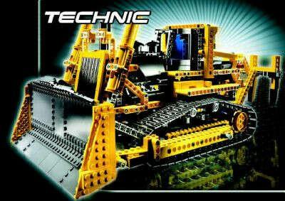 Какой-нибудь конструктор Lego Technic