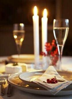 Ужин при свечах