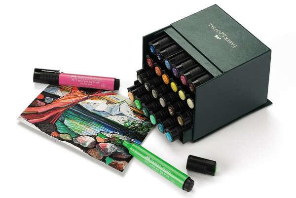"""Pitt Artist Pen """"Big Brush"""" Atelierbox 24 Stück"""