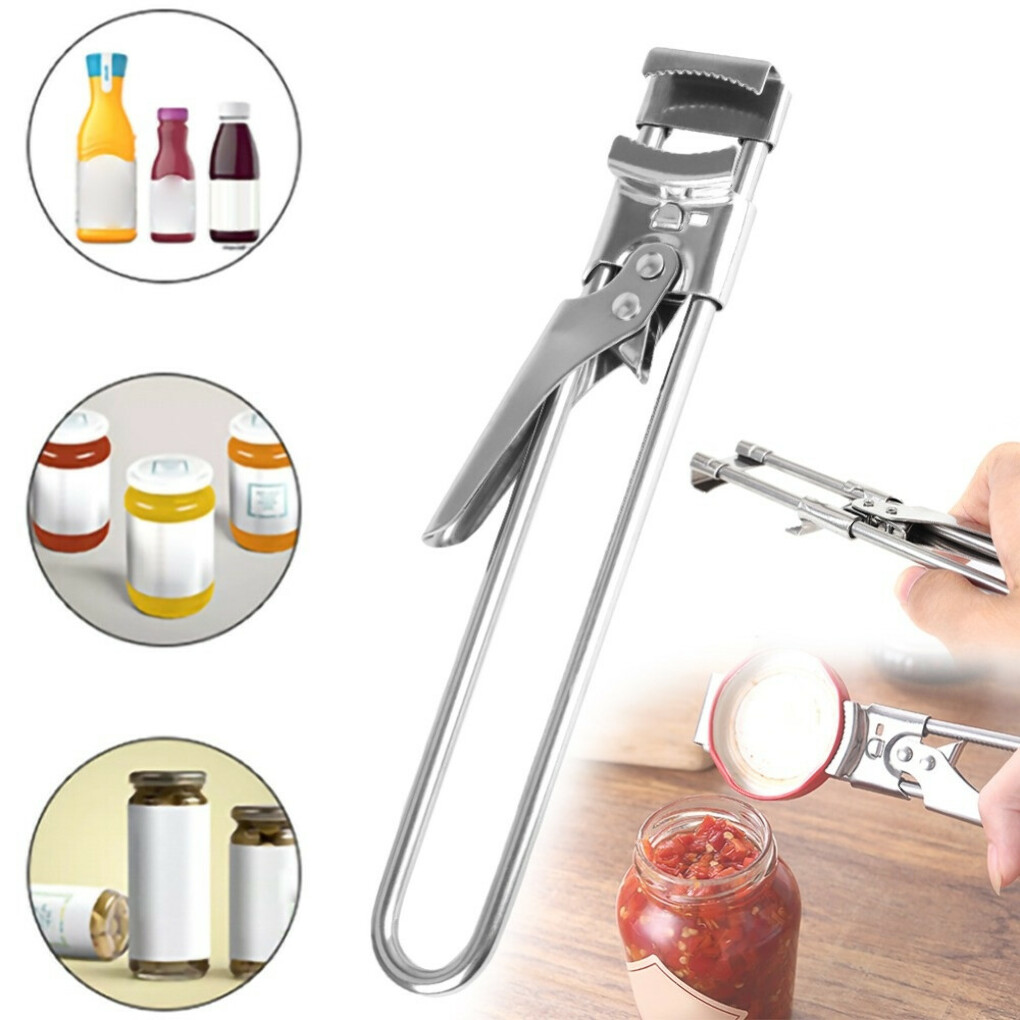 Adjustable Multifunctional Stainless Steel Can Opener - Multifunctional Opener Adjustable — Luxenmart Up to 80% Off, All For You