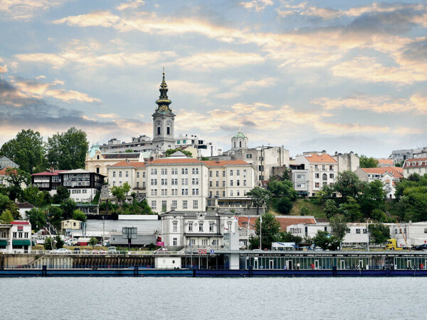 Белград. Сербия