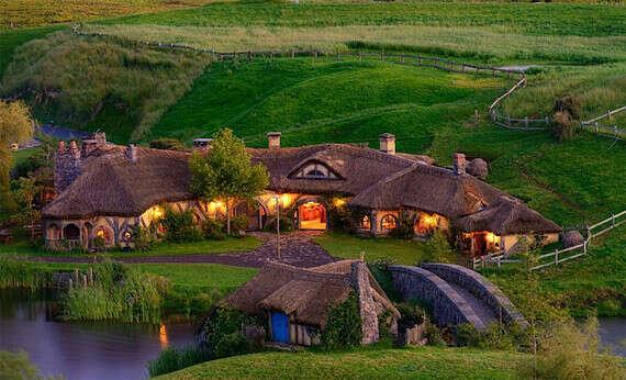 Хочу посетить деревню Хоббитов в Новой Зеландии