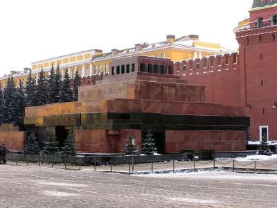 В Мавзолей Ленина