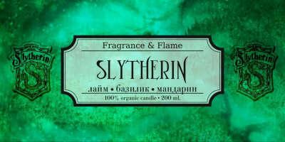 Ароматическая свеча Fragrance & Flame - Slytherin
