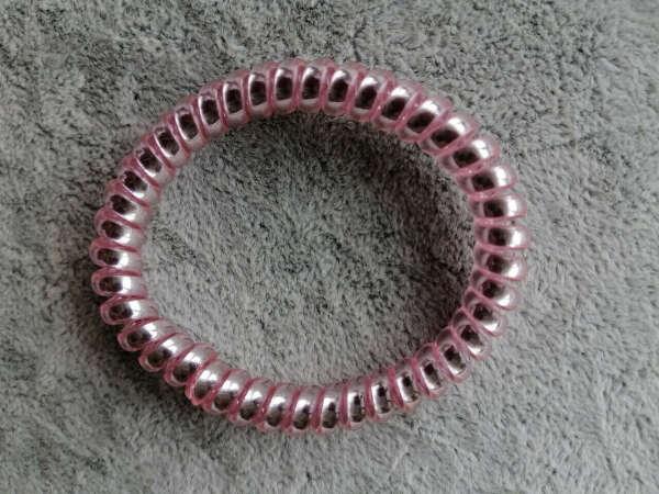 Резинка-пружинка Нежно-Розовая 4,5 см