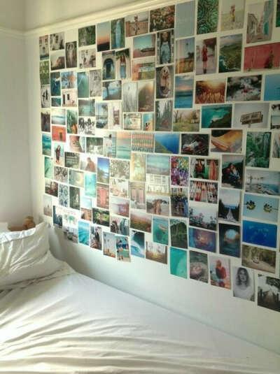 Стена с фотографиями