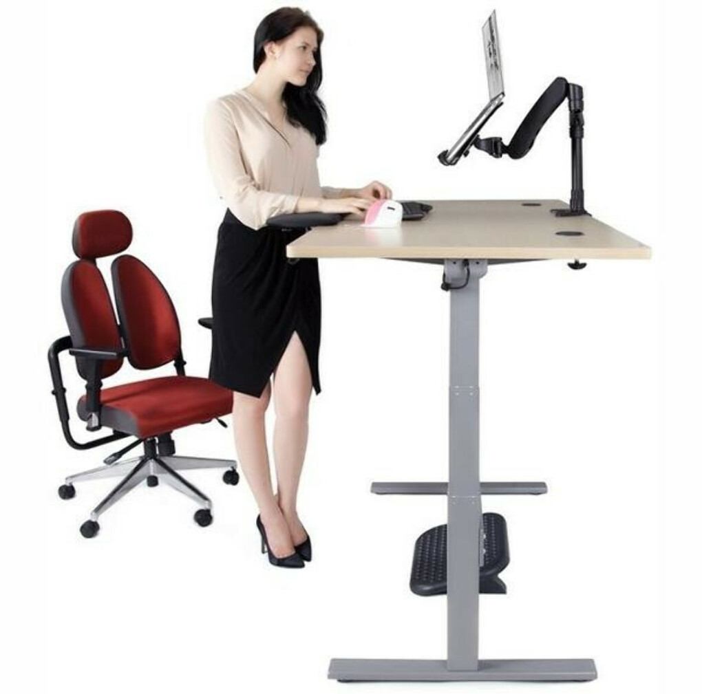 Electric 2 leg Table with German Okin motor, without table top