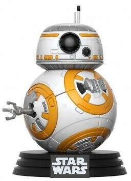 Фигурка Funko POP: Star Wars – BB-8 Bobble-Head (9,5 см)