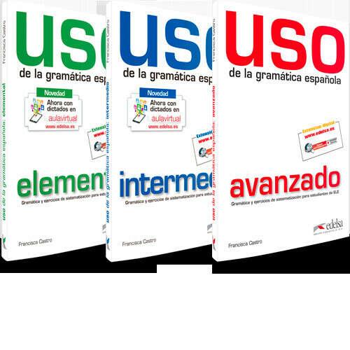 Uso de la gramatica espanola - intermedio y avanzado