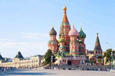 Путешествие по Москве теплым летом с подругой