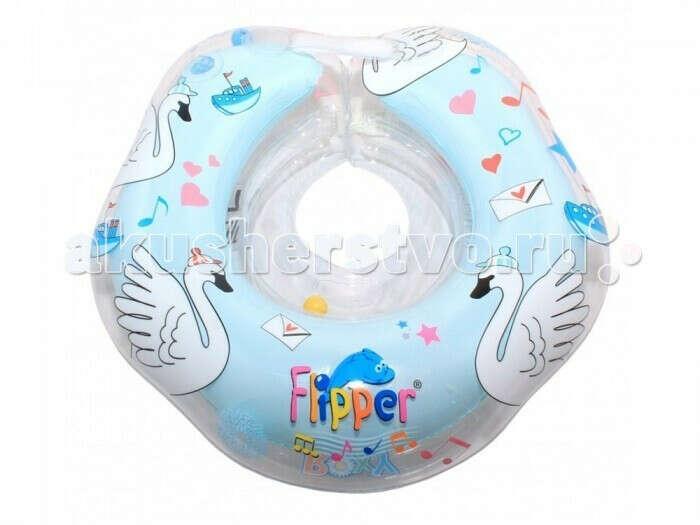 Круг для купания ROXY Flipper 0+ на шею музыкальный - Акушерство.Ru