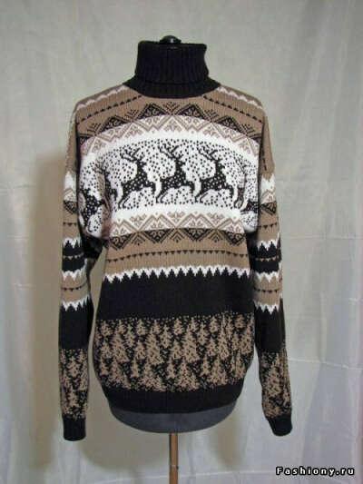 Хочу новогодний свитер с оленями