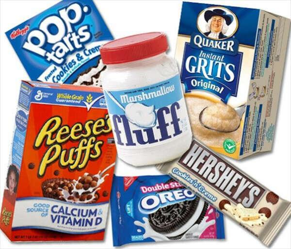 Американских сладостей :3