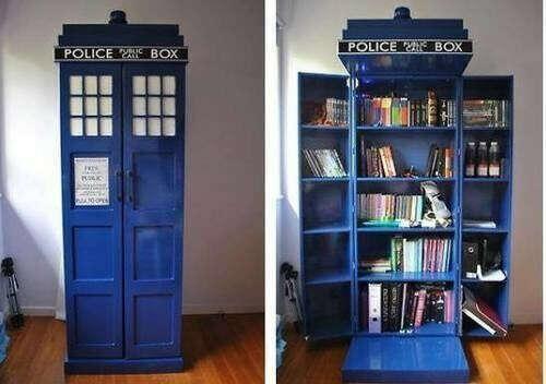 хочу шкаф в стиле доктор кто.