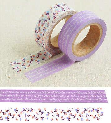 Набор декоративных скотчей 'Masking Tape'