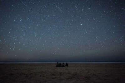 Сидеть под звездами